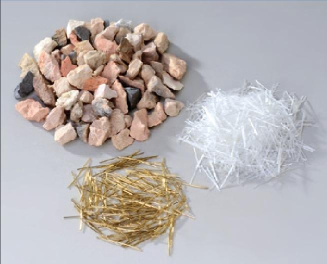 Bauxite, Steel Fibre & Glass Fibre Image